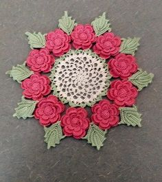 Doily by DazzlingDoilies on Etsy, $20.00