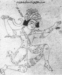 'Book of Fixed Stars' (Kitāb suwar al-kawākib al-ṯābita) by 'Abd al-Rahman ibn 'Umar al-Ṣūfī, Persian translation by Nasīr al-Dīn al-Tūsī Suleymanie (Süleymaniyye) Library, Istanbul, Ms Ayasofya 2595, 1249-50AD. Probably produced in Alamut, Iran.