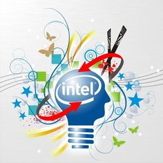 "Designed by #Intel fans for ""What Intel means to you?"" creative contest on Zooppa"