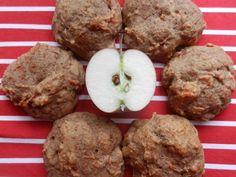 La Pommoelleuse: Galette pommes et cannelle Biscuits, Desserts Sains, Muffin Recipes, Healthy Desserts, Cupcake Cakes, Cupcakes, Madame, Muffins, Sweets