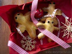 Stutenkerle mit Safran - smarter - Kalorien: 280 Kcal | Zeit: 25 min. #christmas