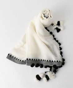 Pompom Scarf, Diy Scarf, Hijab Style Tutorial, Head Scarf Styles, Iranian Women Fashion, Pakistani Dresses Casual, Clothing Photography, Designs For Dresses, Embroidery Fashion