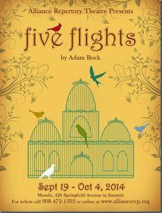 New Jersey Footlights: Alliance Repertory Theatre to present 'Five Flight...