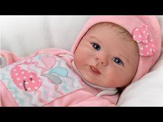 """""""Little Squirt"""" Lifelike Baby Girl Doll - YouTube"""