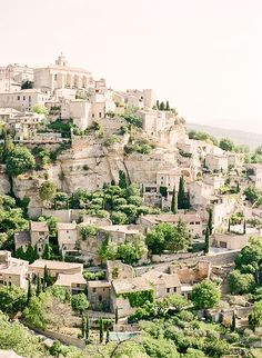 luberon valley, france.