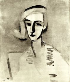 Helene Schjerfbeck b. Helsinki d. Saltsjöbaden, Ruotsi The Teacher 1933 Helene Schjerfbeck, Helsinki, True Art, Art Sketchbook, Figure Drawing, Online Art, Art Gallery, Illustration Art, Scandinavian