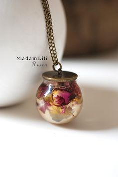 Bronze Les #Roses Collier   de MadamLili ® Bijoux Nostalgique pour les #romantiques sur DaWanda.com #boheme