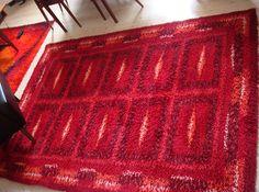 red rya rug