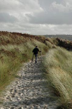 balade, dunes, oyats, finistère, bretagne, Guissény