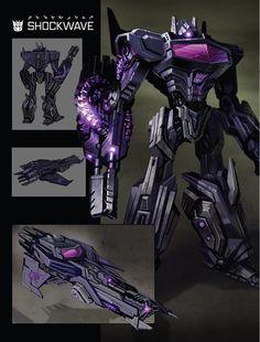 Art of Fall of Cybertron, Shockwave