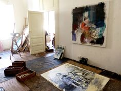 Go inside the studio of artist Anna McNeil: http://magazine.saatchiart.com/articles/artnews/saatchi-art-news/inside-the-studio-saatchi-art-news/anna-mcneil