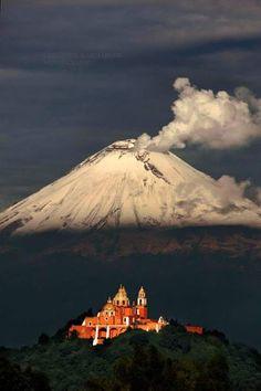 Parroquia de San Andrés, #Cholula, #Puebla, #México Viviana PL Tour By Mexico - Google+