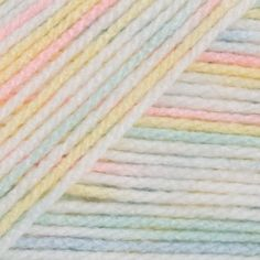 A super soft sport weight, Bernat Baby Sport Ombre is right on trend with subtle color tone changes that appear as you work on a F (4.00mm) hook. Made from 100% acrylic, this washing machine friendly yarn is perfect for baby and children's wear and accessories.