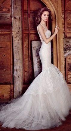 Lazaro Wedding Dresses 3 - Deer Pearl Flowers / http://www.deerpearlflowers.com/wedding-dress-inspiration/lazaro-wedding-dresses-3/