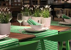Spring table setting by Ikea, Espoo