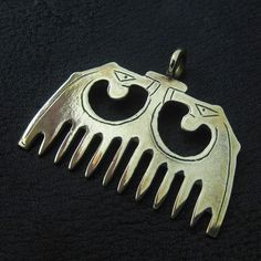 Bronze medieval comb from The Sunken City by DaWanda.com