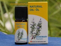 Vivasan Rosmarinöl ist ein  schmerzstillendes, stimulierendes und antiseptisches Mittel. Es stärkt die körpereigenen Abwehrkräfte und wirkt husten- und schleimlösend.Vivasan Rosmarinöl ist als s