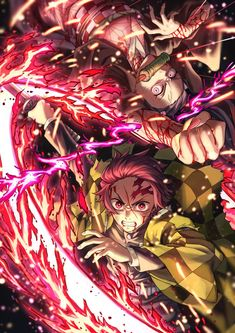 Read Demon Slayer / KimetsuNoYaiba-Online Best Manga Online in High Quality Manga Anime, Fanarts Anime, Anime Demon, Otaku Anime, Anime Boys, Anime Characters, Manga Girl, Demon Slayer, Slayer Anime