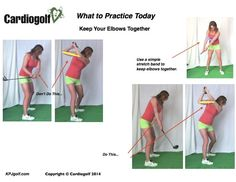 30 Drills and Golf-Fitness Exercises. Elbows Together | KPJ Golf