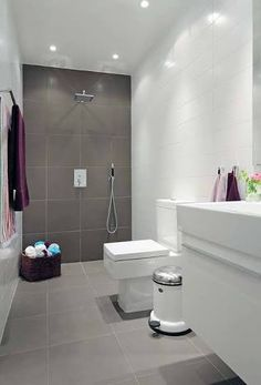 Image result for bathroom tile ideas grey and white