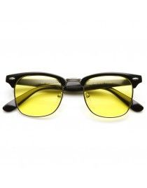 53d720f8ff Indie Half Frame Horned Rim Polarized Driving Lens Sunglasses 2934 ( 9.99)  ❤ liked on
