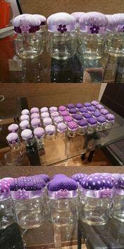 #jars #Birthday #Souvenirs - #lembrancinhas de #festa com #potinhos de #vidro