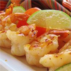 Grilled Tequila-Lime Shrimp