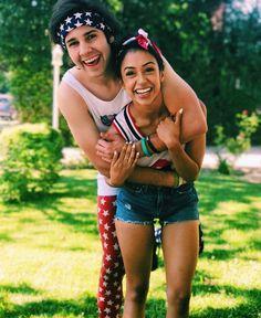 Liza and David are such a cute couple
