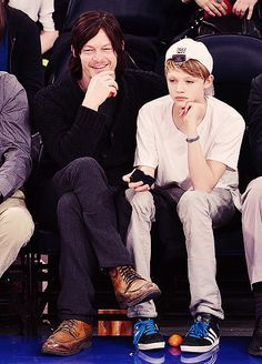 Norman Mark Reedus and Mingus Lucien Reedus