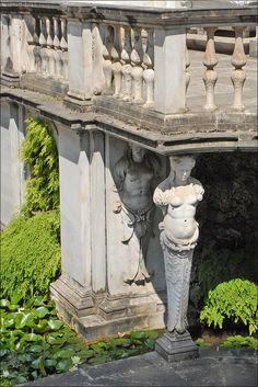 Détail du nymphée de la Villa Giulia (Rome)