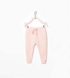BASIC VELOUR TROUSERS from Zara Baby Girl