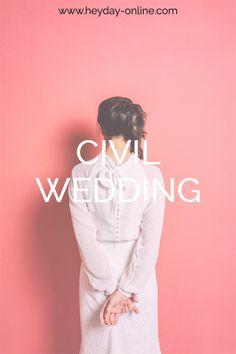 Finde deinen individuelles zweiteiliges Brautkleid für deine standesamtliche Hochzeit. Chiffon, Boho Stil, Civil Wedding, Elegant, Leather, Outfits, Fashion, Two Piece Outfit, Mandarin Collar