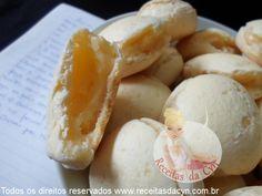 Pão de queijo industrial da Luzinete Veiga