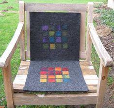 anaj - myblog.de Felted chair pad/cushion