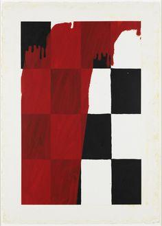 Heilman Half Jack, 2005  Oil on gessoed paper   105.4 x 75.2 cm