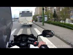 Watch the entire video here: | After This Motorcyclist Watched A Man Miss The Bus, He Decided To Do Something Really Awesome
