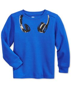 Epic Threads Boys' Graphic-Print Thermal Long-Sleeve Shirt, Only at Macy's - Shirts & Tees - Kids & Baby - Macy's