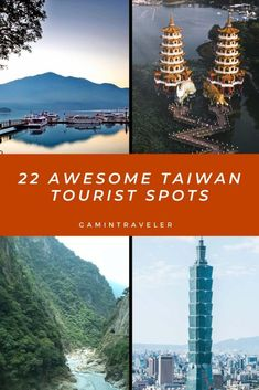 Our 22 Favorite Taiwan Tourist Spots from the capital Taipei and Taroko National Park to beautiful cities like Tainan and Kaohsiung. Taiwan Travel, China Travel, Top Travel Destinations, Amazing Destinations, Countries To Visit, Tourist Spots, Group Travel, Travel Guides, Travel Advice