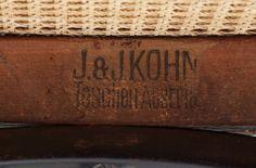 STOLAR, ett par, Gustav Siegel, J & Kohn, Österrike, 1900-talets ...