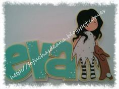 Nombre gorjus Scrapbooking, Diy, Craft, Fiestas, Stall Signs, Jelly Beans, Names, Bebe, Bricolage