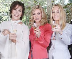 Michele Lee, Donna Mills & Joan Van Ark Talk Their 'Sister' Act and How They're 'Knot' Done Yet Joan Van Ark, Kate Mansi, Michele Lee, Chad And Abby, Donna Mills, Billy Miller, Knots Landing, Sister Act, The Hollywood Bowl