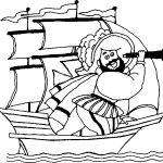 Images for columbus day printable coloring pages