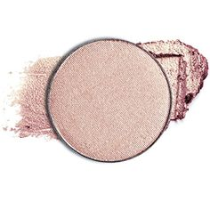 Makeup Highlighter Powder 'On the Glow' - Shimmering Light Catching Pressed Powder For Face & Body. Pan-only. Color Rose Gold Pink Glow. ** For more information, visit image link.