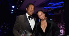 Clive Davis, Alicia Keys Honor Jay-Z at Pre-Grammys Gala #headphones #music #headphones