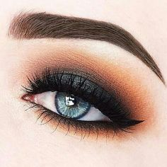 Smokey eye perfection.