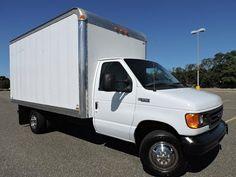 Image result for 14ft box vans Box Van, Van Living, Recreational Vehicles, Ford, Vans, Trucks, Motorcycles, Canada, Image