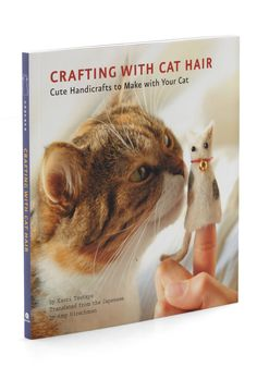 You know all that fur you're always chasing down around the house? Put it to good use by crafting it into a purr-fectly unique DIY. $15, amazon.com  - GoodHousekeeping.com