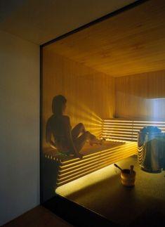 Low EMF Infrared Sauna - Advantages & Available Models Sauna Steam Room, Sauna Room, Sauna Design, Home Gym Design, Saunas, Home Spa Room, Thermal Hotel, Spa Lighting, Outdoor Sauna