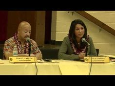 """Tulsi Gabbard in Laie Community Meeting - """" We must work together"""" Community"""