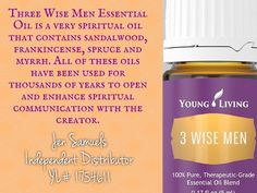 Young Living Essential Oils 3 Wise Men |  http://yldist.com/jen4yleo/